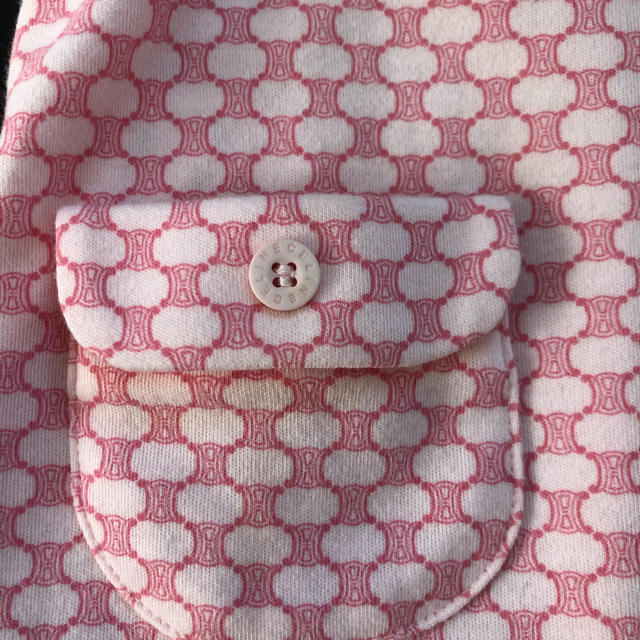 celine(セリーヌ)の新品タグ付き セリーヌ ベビー服 キッズ/ベビー/マタニティのキッズ服女の子用(90cm~)(ワンピース)の商品写真