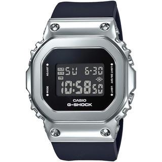 ジーショック(G-SHOCK)のカシオ G-SHOCK ミッドサイズ ユニセックス 腕時計 ブラック×シルバー(腕時計(デジタル))