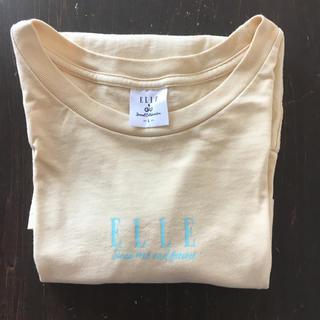 GU - GU&ELLEコラボTシャツ