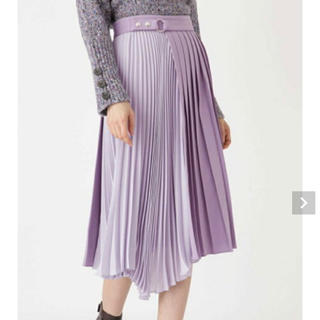 JILLSTUART - ジルスチュアート メリルイレヘムプリーツスカート サイズ4 19aw