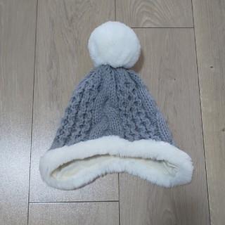 コムサイズム(COMME CA ISM)のコムサ ニット帽 46(帽子)