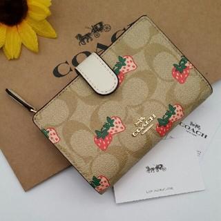 COACH - 新品COACH(コーチ)の二つ折り財布   F91836