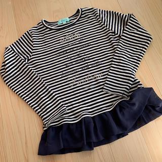 ナルミヤ インターナショナル(NARUMIYA INTERNATIONAL)の長袖Tシャツ チュニック 140(Tシャツ/カットソー)
