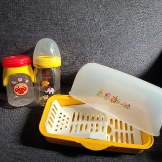 ニシマツヤ(西松屋)の哺乳瓶&消毒器セット(哺乳ビン)