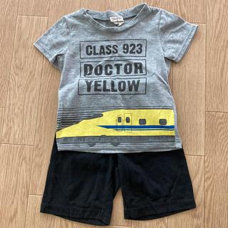 ジェイアール(JR)のドクターイエロー Tシャツ ズボン セット 90cm(Tシャツ/カットソー)