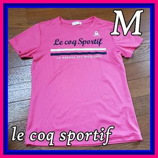 ルコックスポルティフ(le coq sportif)のlecoq sportif  サイズM 半袖(Tシャツ(半袖/袖なし))