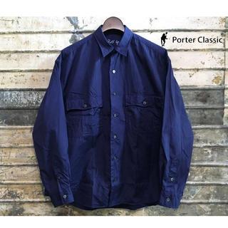 PORTER - ポータークラシック ロールアップシャツ XS