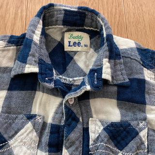 バディーリー(Buddy Lee)の【訳あり】Buddy Lee チェックシャツ 90cm(Tシャツ/カットソー)