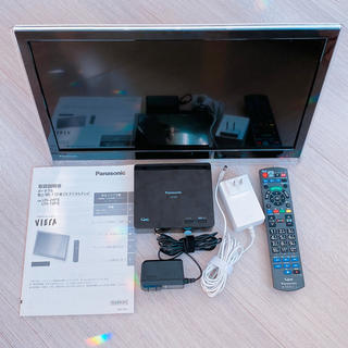 Panasonic - Panasonic ポータブルテレビ プライベート・ビエラ UN-19F6