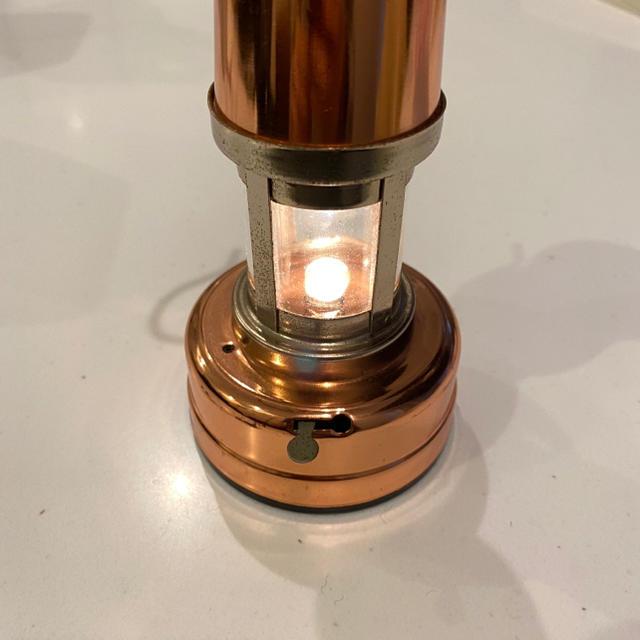 ヴィンテージライト アンティークランプ インテリア/住まい/日用品のライト/照明/LED(テーブルスタンド)の商品写真