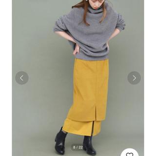KBF - 定価 8140円 KBF レイヤードスカート