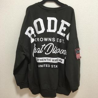 RODEO CROWNS WIDE BOWL - ロデオクラウンズ スウェット