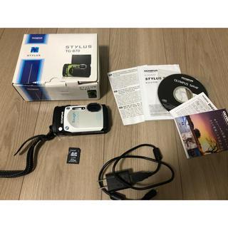 OLYMPUS - OLYMPUS デジタルカメラ STYLUS TG-870 ホワイト 白