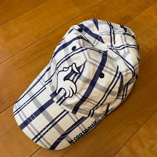 ルコックスポルティフ(le coq sportif)のルコック リバーシブル帽子(キャップ)