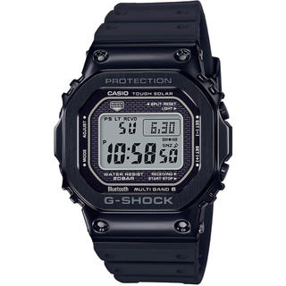ジーショック(G-SHOCK)のカシオ G-SHOCK モバイルリンク 電波ソーラー 腕時計 ブラック(腕時計(デジタル))