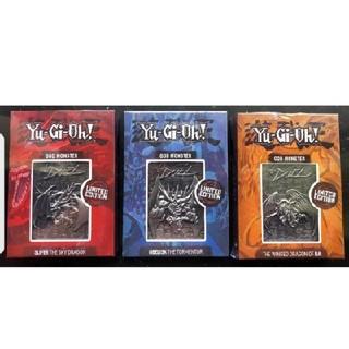 コナミ(KONAMI)の遊戯王 三幻神 金属製カード シルバー 限定5000個.(シングルカード)
