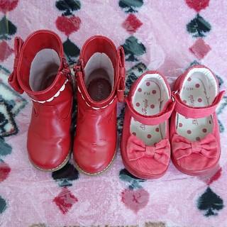 Shirley Temple - シャーリーテンプル ブーツ、リボンシューズ