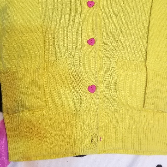 EARTHMAGIC(アースマジック)のアースマジックふりむきマフィちゃんカーディガン キッズ/ベビー/マタニティのキッズ服女の子用(90cm~)(ジャケット/上着)の商品写真