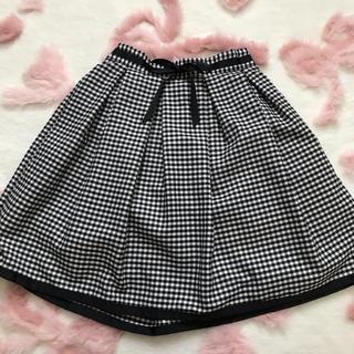 evelyn - チェック柄スカート