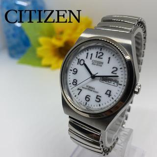 CITIZEN - シチズン(CITIZEN)メンズ腕時計 ソーラー エコドライブ 美品です☆