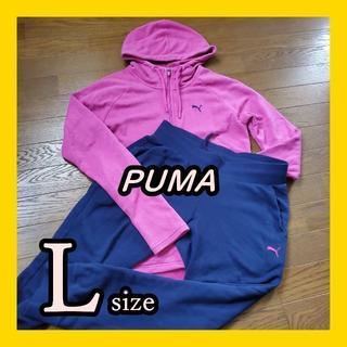 プーマ(PUMA)のPUMA スウェット セットアップ サイズL(トレーナー/スウェット)