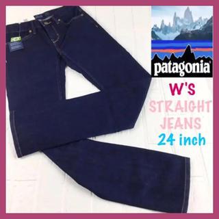 パタゴニア(patagonia)の新品 Patagonia W's ストレートジーンズ ショート デニム 24(デニム/ジーンズ)