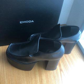 エモダ(EMODA)のEMODA 厚底ローファー(ローファー/革靴)