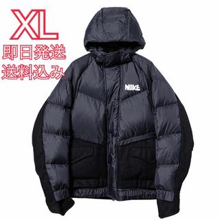 NIKE - Nike sacai Men's Parka サカイナイキ ダウンパーカー 黒