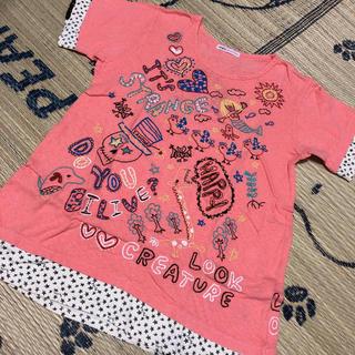 ラフ(rough)のrough☺︎刺繍いっぱいTシャツ(Tシャツ(半袖/袖なし))