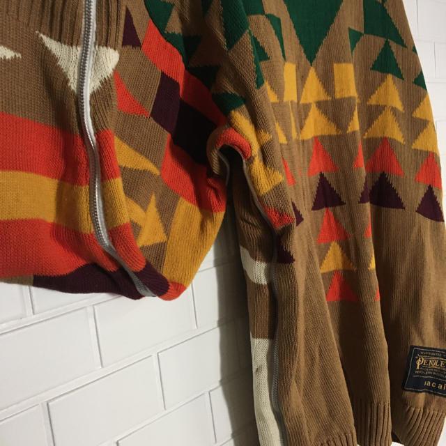 sacai(サカイ)のsacai pendleton コラボ ニット 貴重Lサイズ メンズのトップス(ニット/セーター)の商品写真