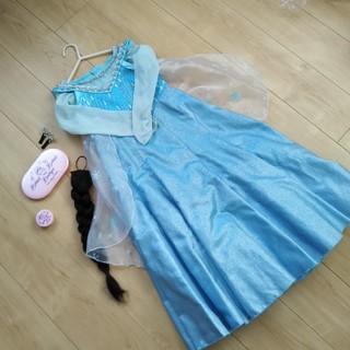 Disney - エルサドレス 120cm