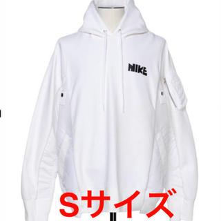 新品未使用 Nike × sacai Hoodie White S(パーカー)