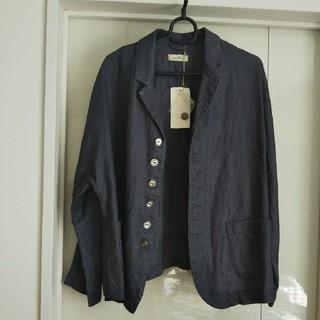 nest Robe - 新品タグ付 ネストローブ リネンドルマンジャケット