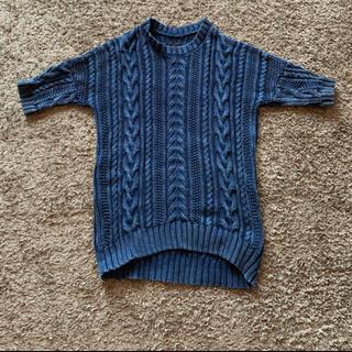 ウノピゥウノウグァーレトレ(1piu1uguale3)のsand blasterメンズ半袖ニット✨(ニット/セーター)