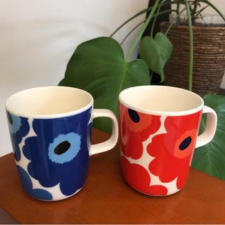 marimekko - marimekko マリメッコ ウニッコ マグカップ 2個セット