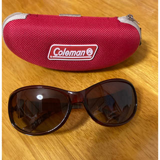 Coleman - Coleman コールマン サングラス レディース ブラウン メガネケース付