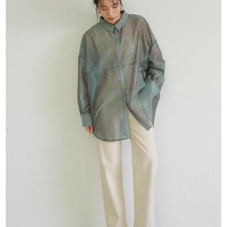 TODAYFUL - select moca シースルービッグシルエットシャツ