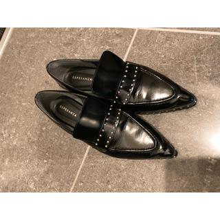 エスペランサ(ESPERANZA)のエスペランサ スタッズ 付 ローファー(ローファー/革靴)