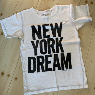 ゴートゥーハリウッド(GO TO HOLLYWOOD)のgotohollywood ゴートゥーハリウッド ホワイト 160 ロゴTシャツ(Tシャツ(半袖/袖なし))
