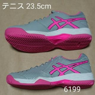 アシックス(asics)のテニス 23.5cm アシックス LADY GEL-GAME 6 OC(シューズ)