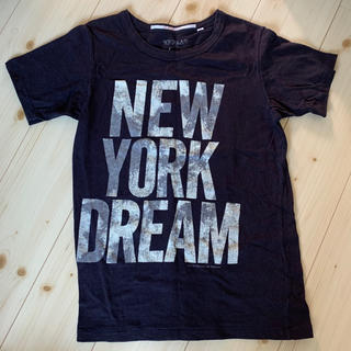 ゴートゥーハリウッド(GO TO HOLLYWOOD)のgotohollywood ゴートゥーハリウッド ブラック 160 ロゴTシャツ(Tシャツ(半袖/袖なし))