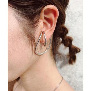 Ameri VINTAGE - irregular curve ear cuffs-silver-