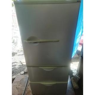 サンヨー(SANYO)の札幌市近郊にお住まいの方限定!配達無料!SANYO 3ドア 冷凍冷蔵庫 255L(冷蔵庫)