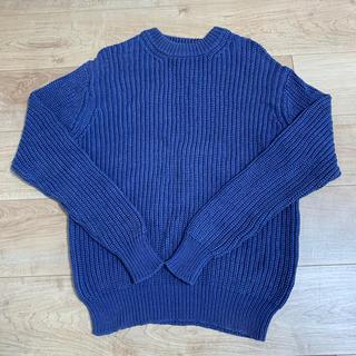 ユナイテッドアローズ(UNITED ARROWS)のUNITED ARROWS メンズ Lサイズ ブルー青(ニット/セーター)