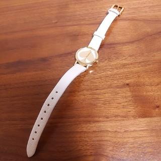 kate spade new york - kate spade ケイトスペード 腕時計 電池切れ レザーベルト