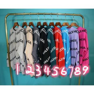 バレンシアガ(Balenciaga)の13# バレンシアガ 9色入「2枚16000円送料込み」セーター(ニット/セーター)