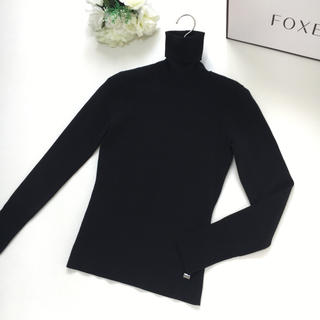 FOXEY - 【美品】FOXEY フォクシー ストレッチ レーヨン トップス セーター