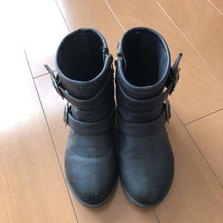 ジーユー(GU)のGU GIRLS ショートブーツ 19cm(ブーツ)