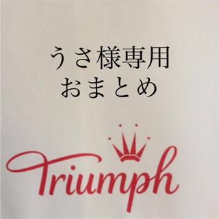 Triumph - 【新品タグ付】triumph/PREMIUM スリップ80(定価¥8,800)