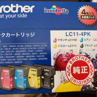 brother - brother インクカートリッジ LC11-4PK